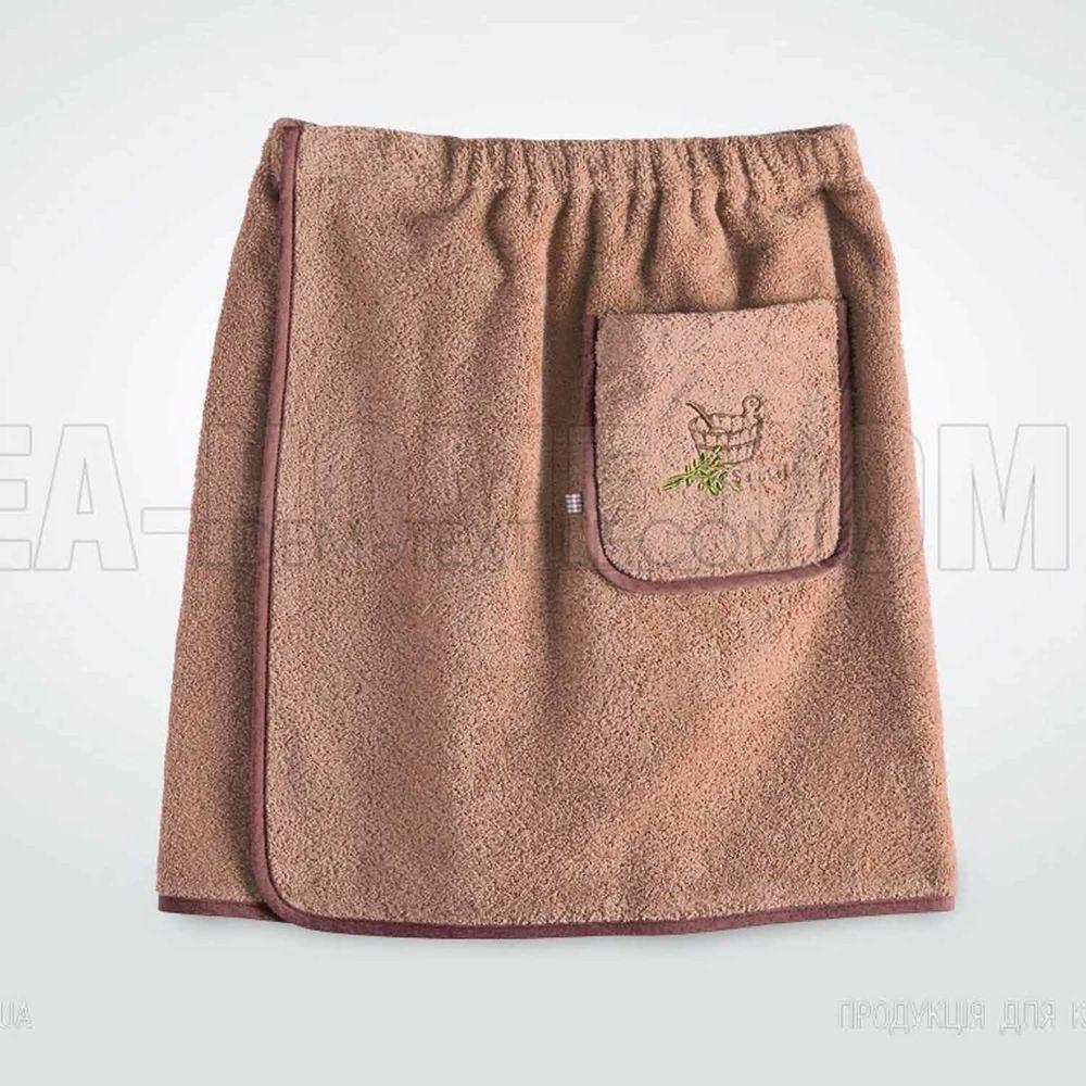 cf83bac6150c Набор для бани мужской Идея Elite Коричневый Купить в Edem-Textile