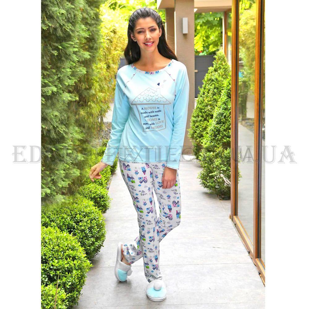f052a924bd09 Пижама женская Hays 6052 Бирюзовый Купить в Edem-Textile