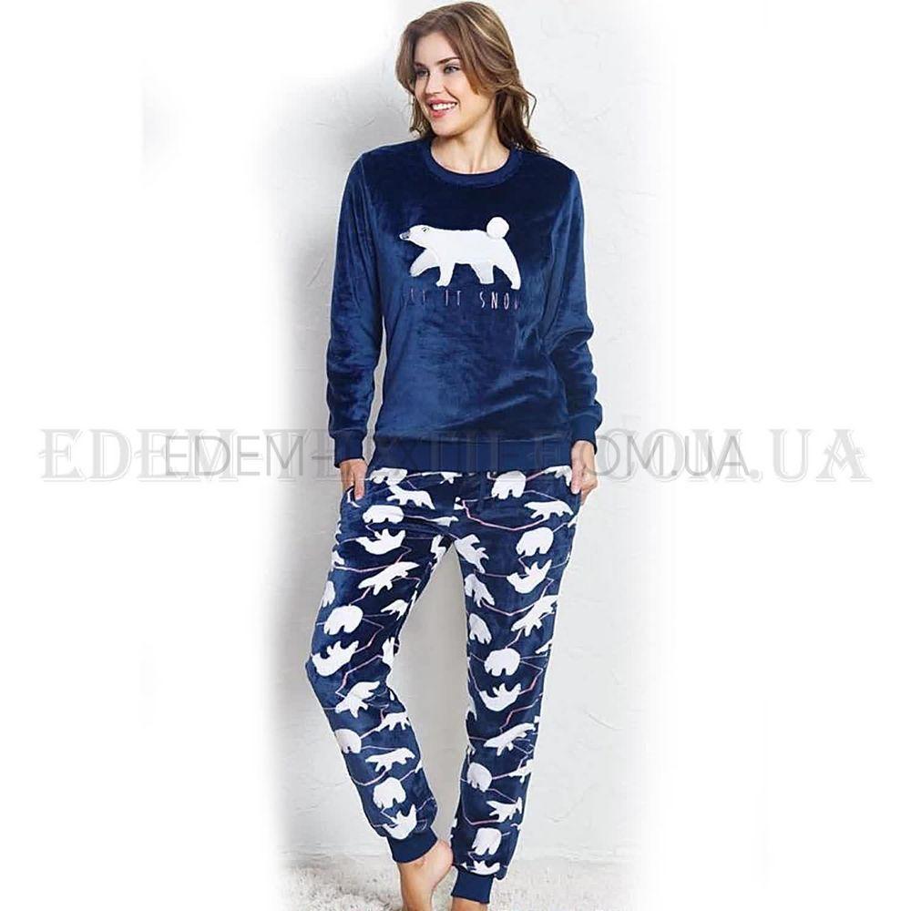 Тепла жіноча піжама з мішками Vienetta 3370 купити по Україні c6756e2571f4b