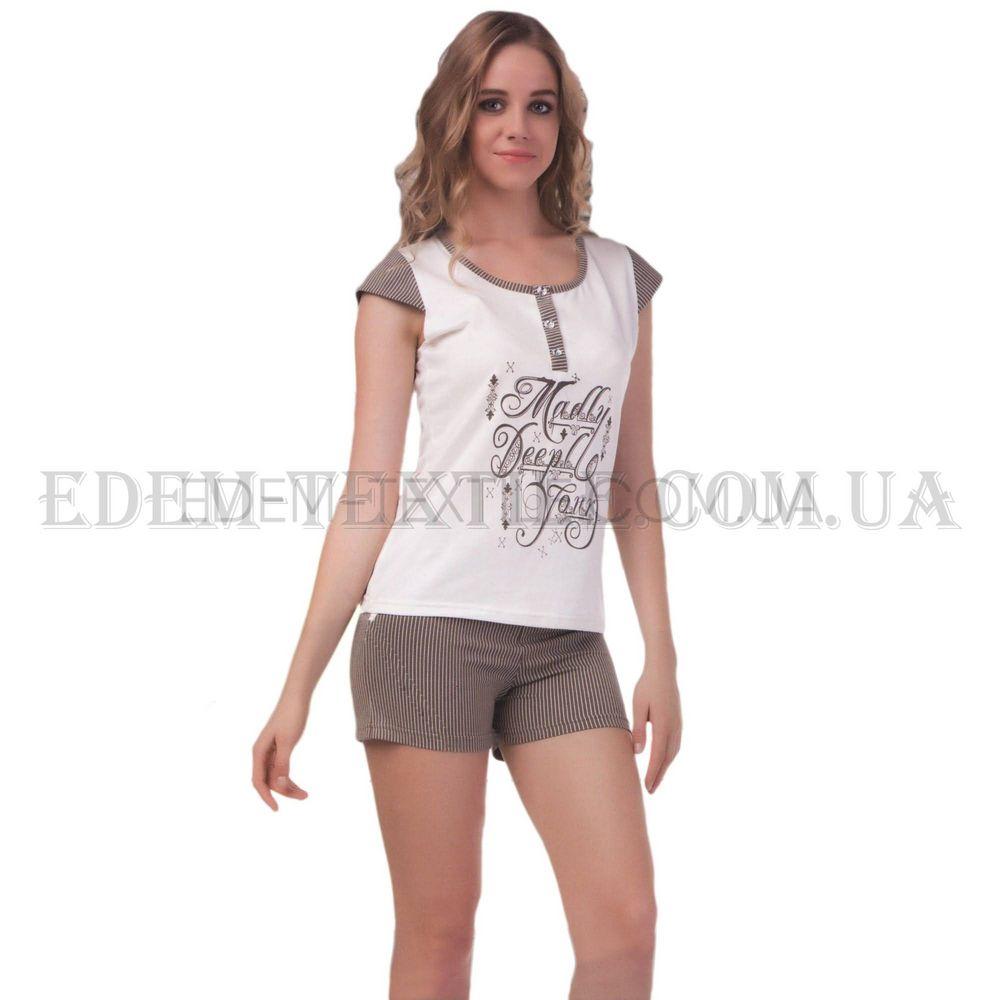 Пижама женская Bella Secret 8336 Кремовый Купить по Украине 5fd929e1b6248