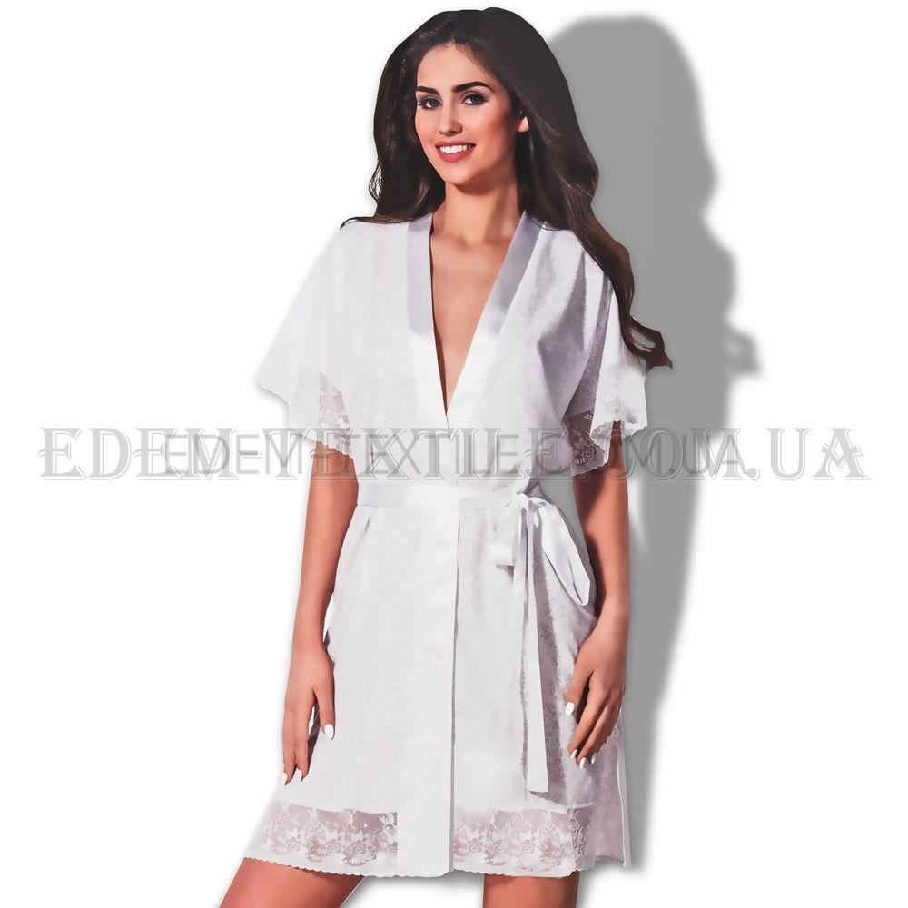 Халат для нареченої білий Hamana Baiser купити по Україні 841e3fbb848b5