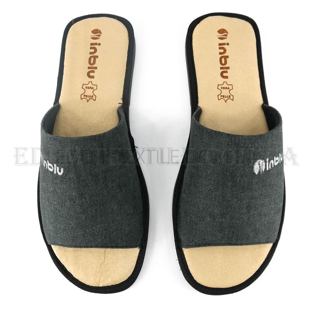 82fe760073030 Мужские тапочки с открытым носком Inblu TN-2Q Серый, 40 Купить в Украине