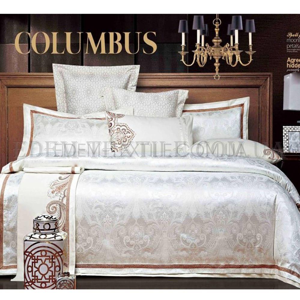 Постільна білизна Bella Villa 200х220 сатин J-0012 Кремовий купити ... eb17d7f4a8b52