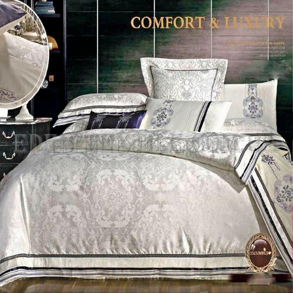 Постільна білизна Bella Villa сімейна сатин J-0013 Кремовий купити ... 938c190c62235