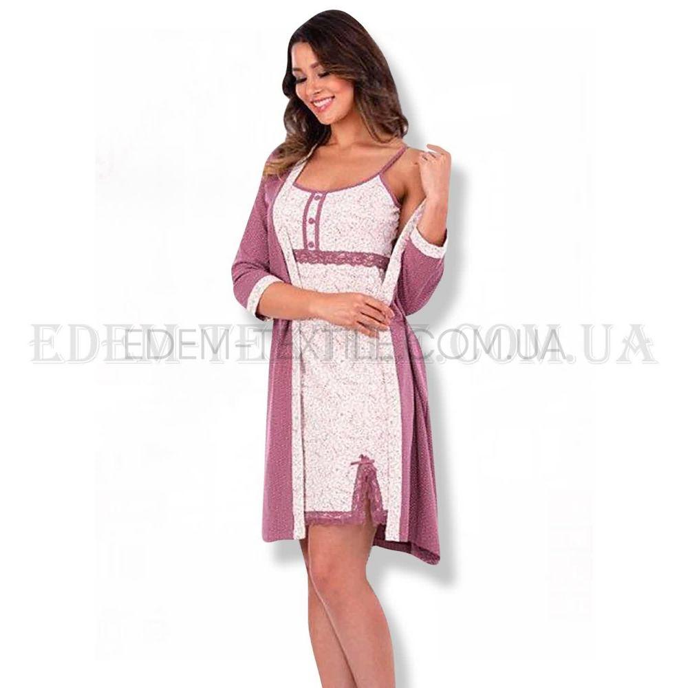Комплект халат і ночнушка Bella Secret 6286 купити по Україні cbc4a4244a75e
