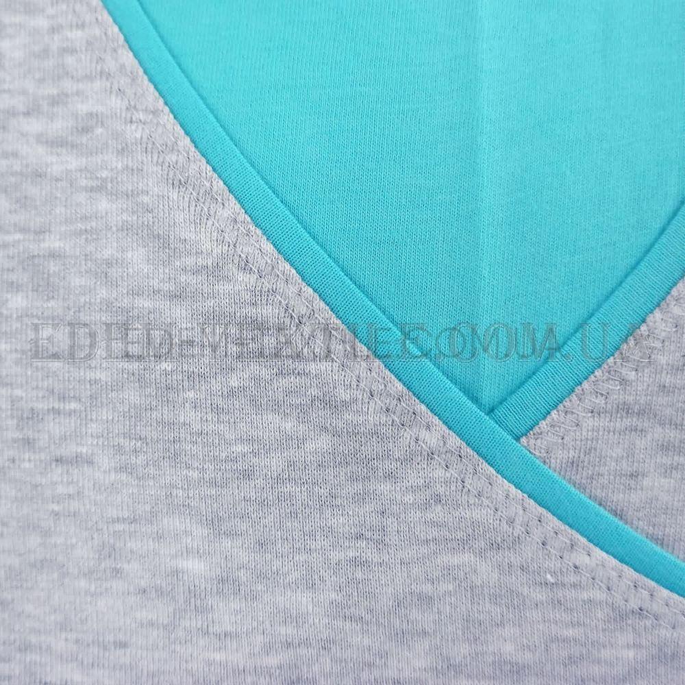 Ночнушка для вагітних та годуючих Dobranocka 3049 сірий b47a4ac289b4a