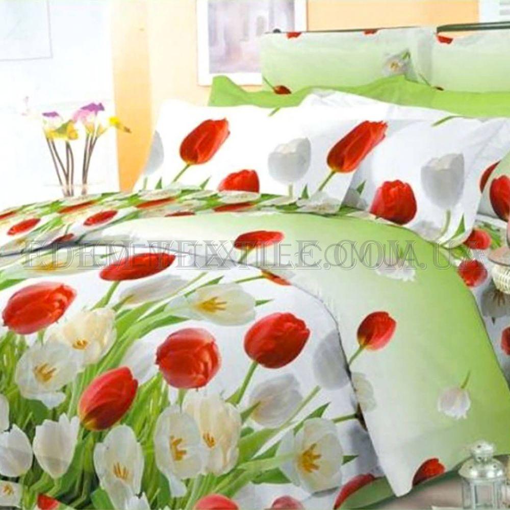 Постільна білизна Viluta 175х215 ранфорс 9818 Салатовий купити по ... 8923487aae773