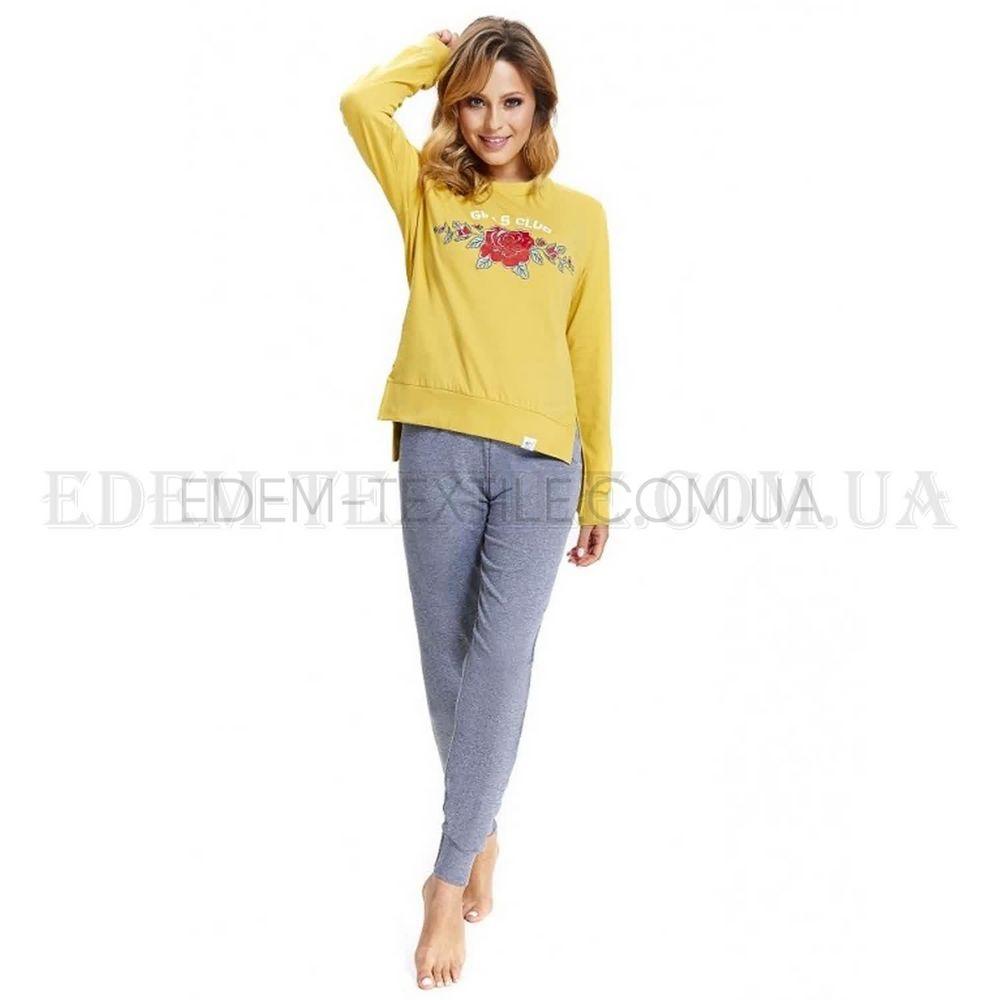 4c7b931f95cc Стильная женская пижама с принтом Dobranocka 9515 , S Купить в Украине