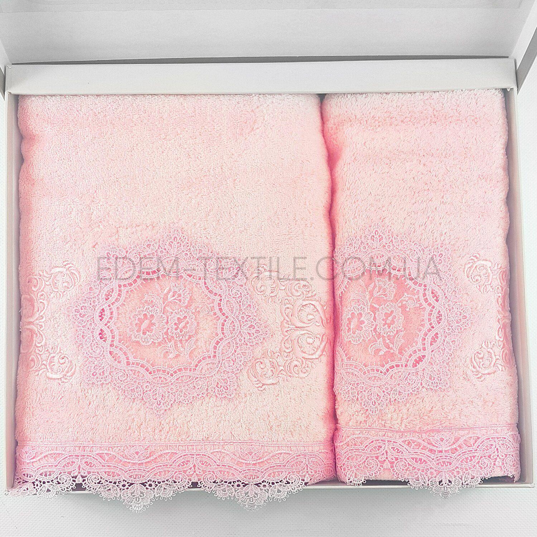 Подарочный набор полотенец Pupilla 9538 Olivyum - фото 1