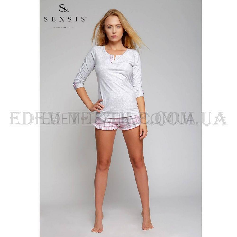 2d16eb7827e4 Пижама женская Sensis Sweet Dreams Серый, Купить в Украине