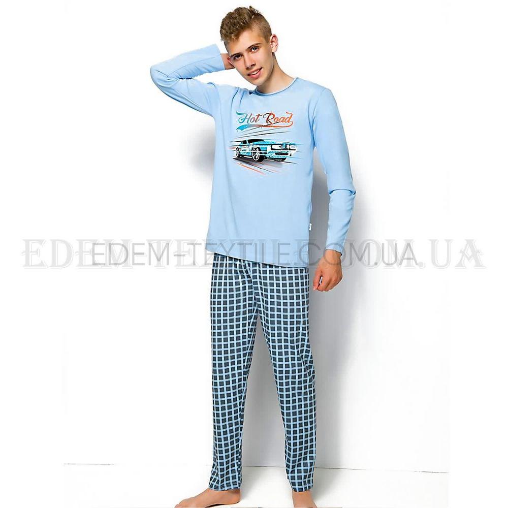 149d95b44fbc Теплая пижама для подростка в клетку Taro Franek , Рост 146 Купить в ...