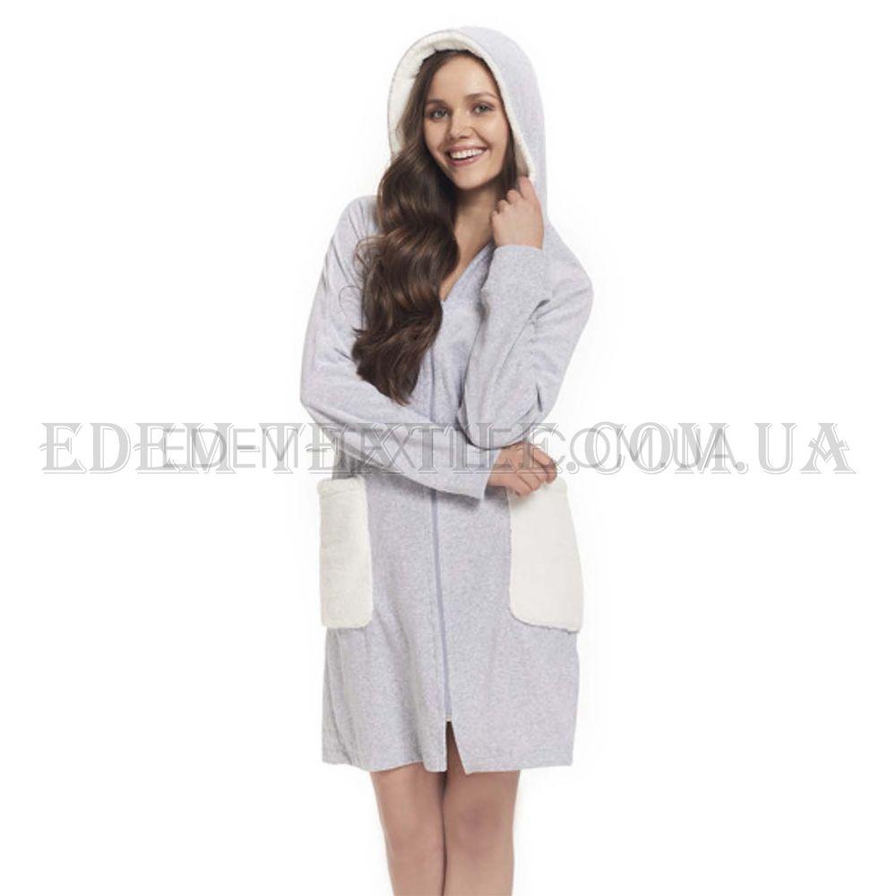 3ff3f3e643f6 Стильный женский халат для дома Dobranocka 9360 , Купить в Украине