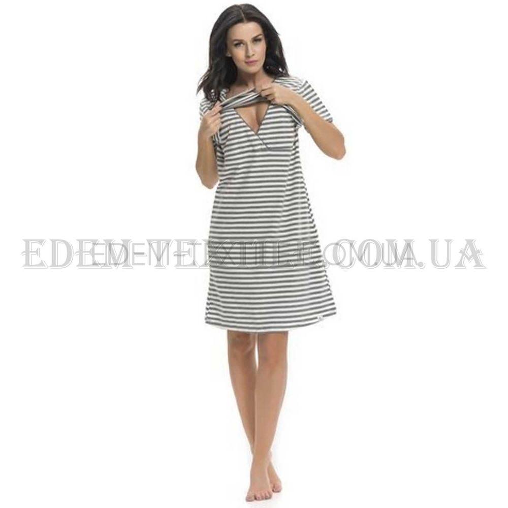 Полосата нічна сорочка в роддом Dobranocka 9211 5f4190757b1c8