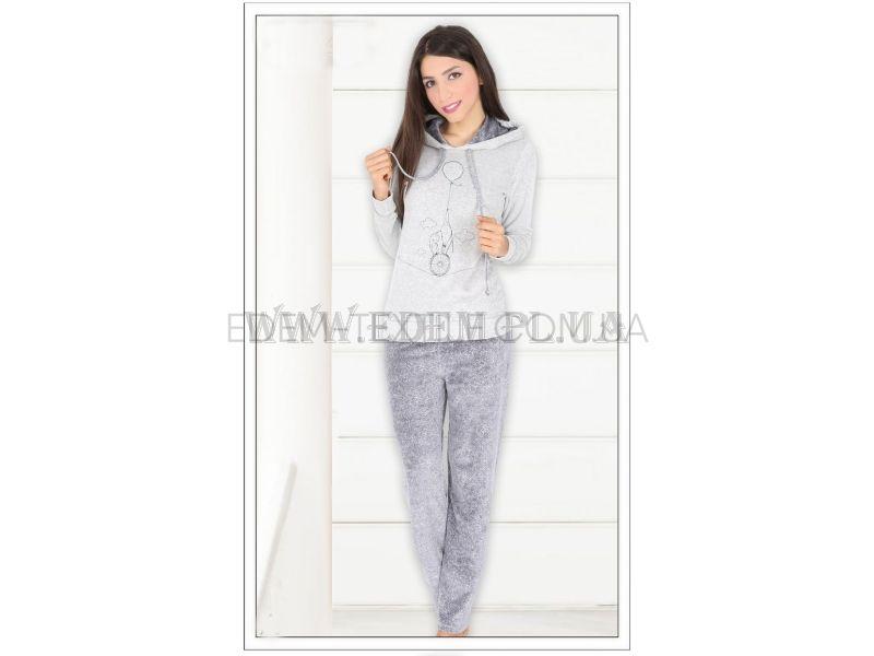 Домашній костюм жіночий велюровий Vienetta secret 5110 504053 купити ... b7e9f8792fe46