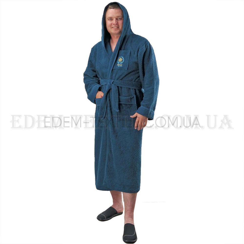 1896d5c43b05d4 Домашній махровий чоловічий халат з капюшоном Ramel , L Купити в Україні