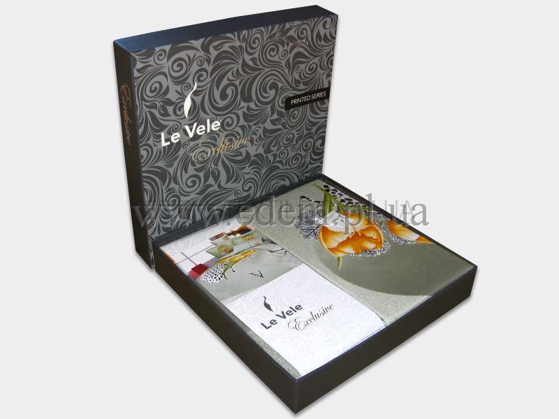 Постільна білизна Le Vele сатин 200х220 Elche Ліловий купити по Україні a7c3d0cef4dab