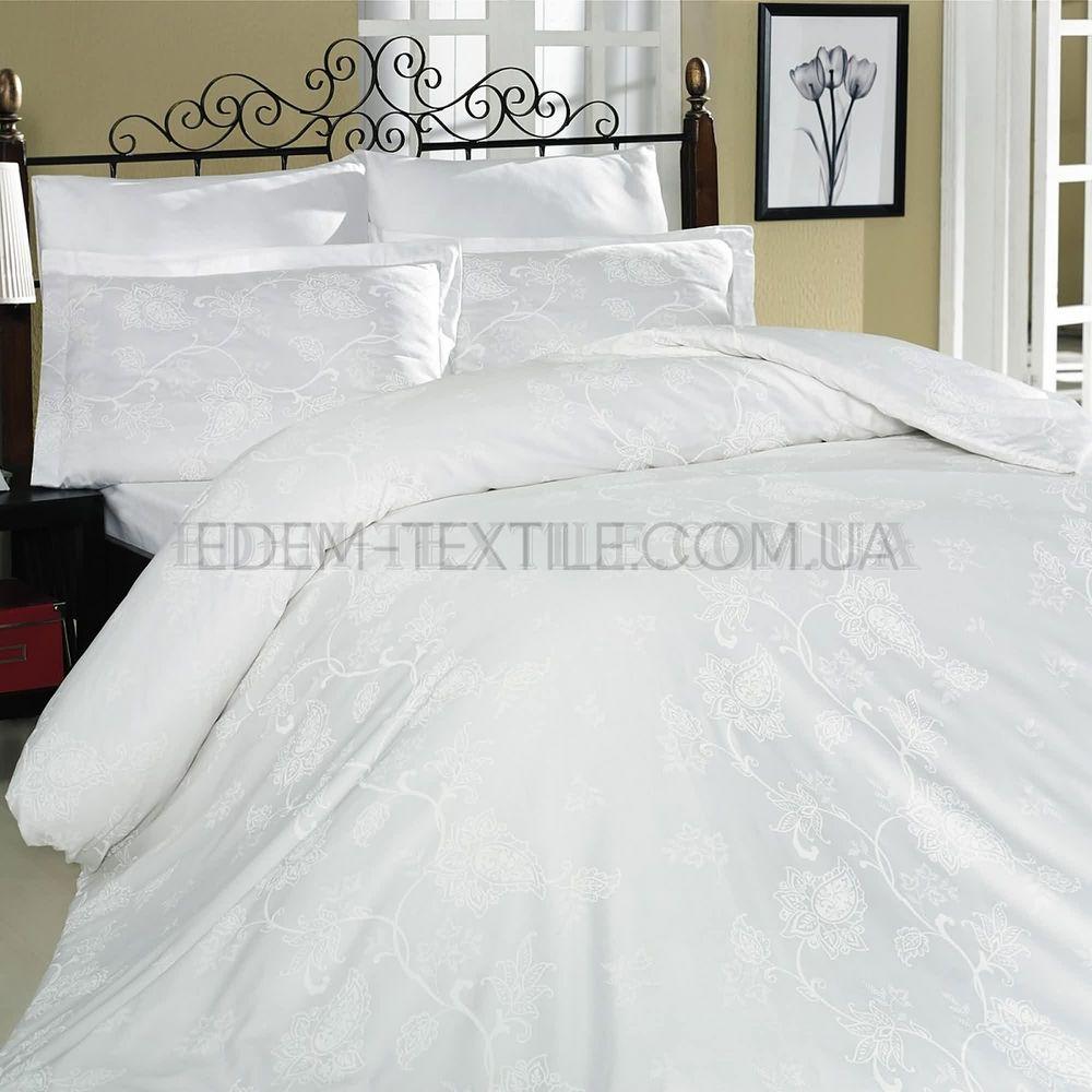 Постільна білизна євро Туреччина сатин Sehrazat beyaz Білий купити ... 4583112922518