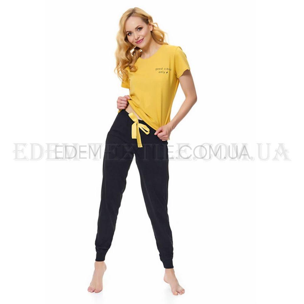 Стильна жіноча піжама з брюками Dobranocka 9541 купити по Україні 17dbce7617f6d