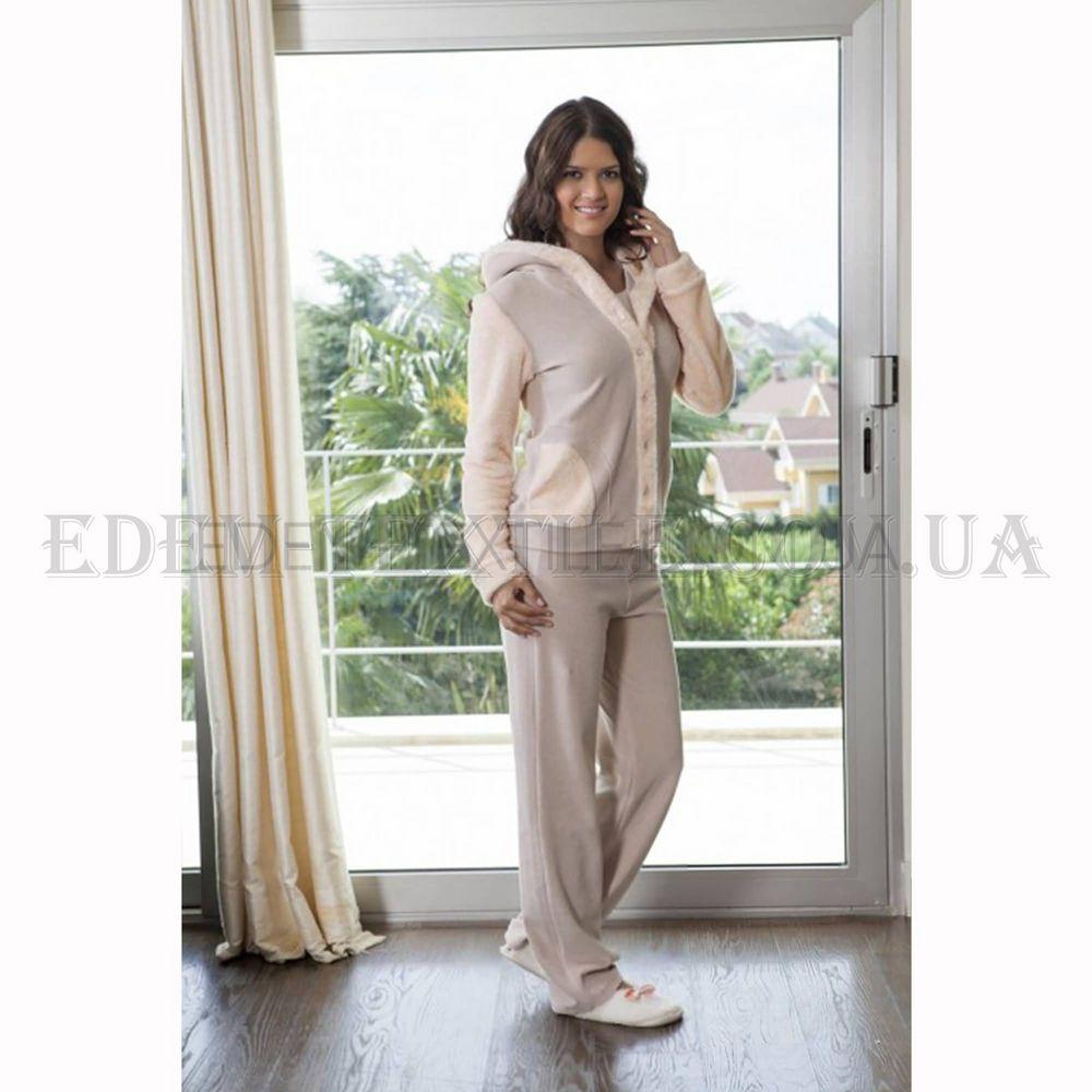 Домашний костюм женский велюр микрофибра тройка Hays 4102 Купить по ... 0d9aa83bee5dc