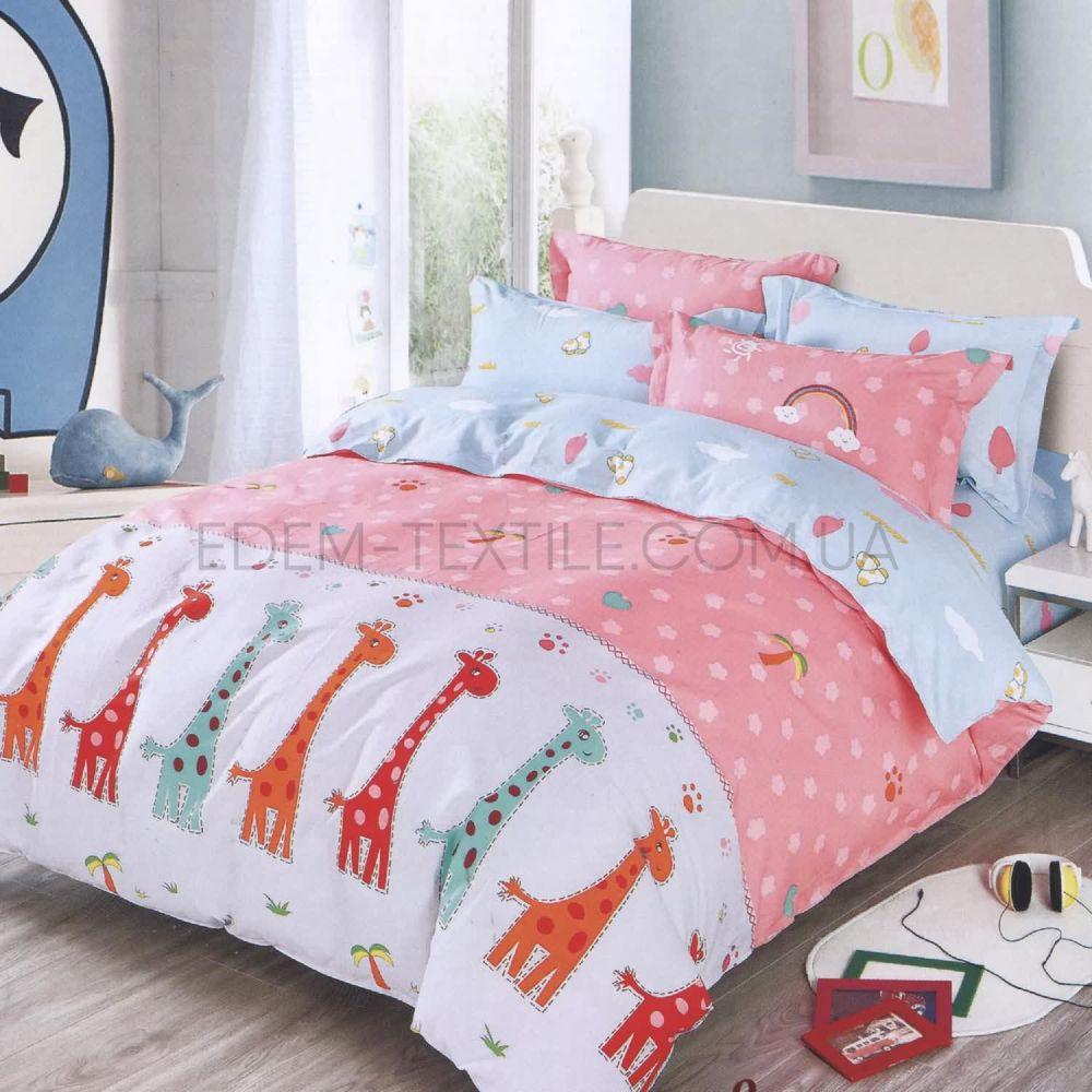 Дитяча постіль в ліжечко Жираф 125 рожевий Рожевий купити по Україні c799d8d63c7d6