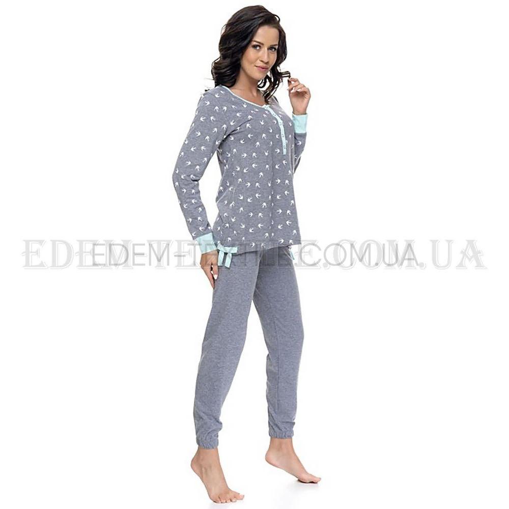 Пижама женская на пуговицах Dobranocka 9103 Купить по Украине ecf1cd132731c
