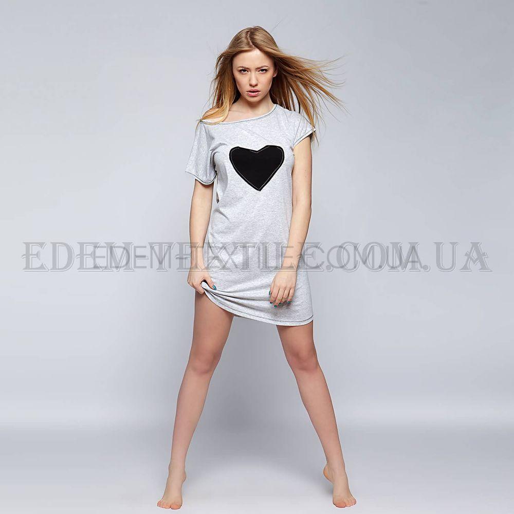 Туніка домашня Sensis Love Сірий Сірий купити по Україні 1a6423efceb62