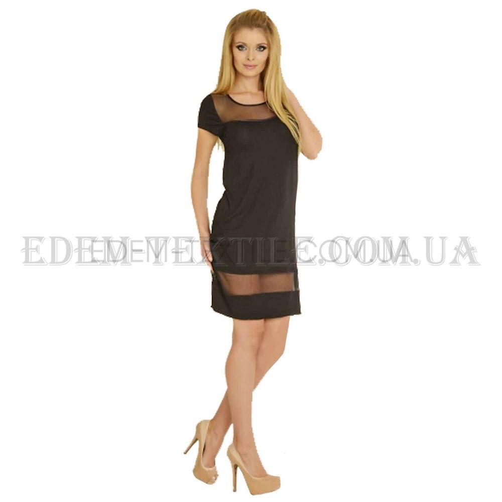 Домашня Сукня De Lafense Avrill 520 чорний Чорний купити по Україні e6669f87a3ea5