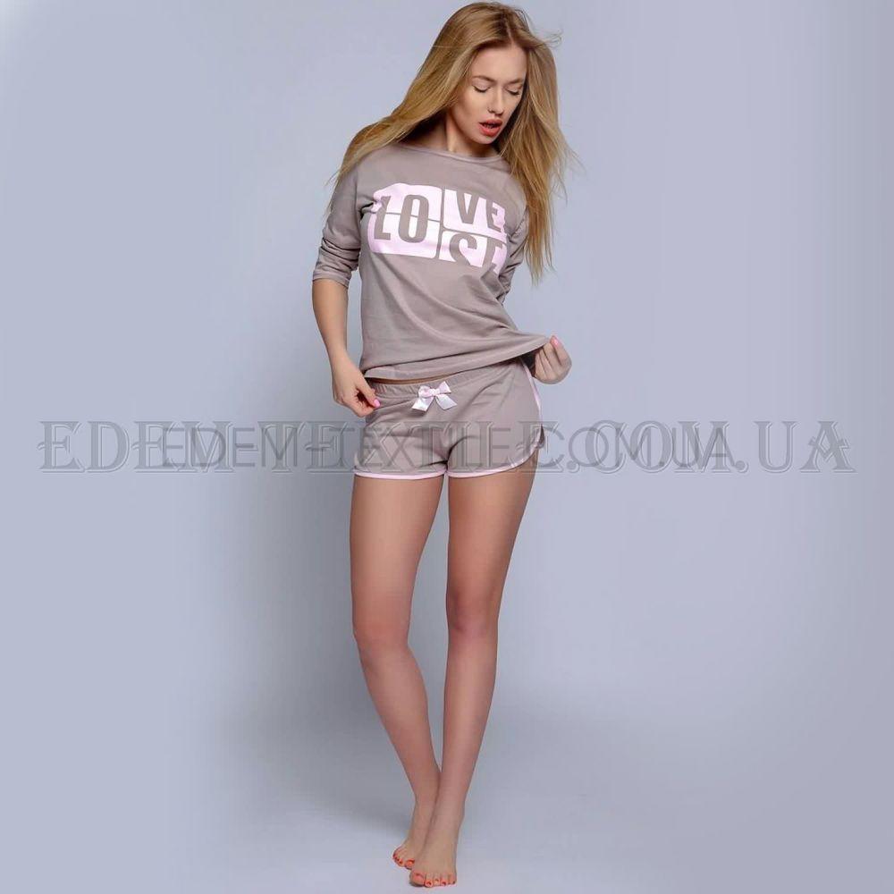 Піжама з шортами жіноча Sensis Eve Капучіно купити по Україні 7d46c7cad113c