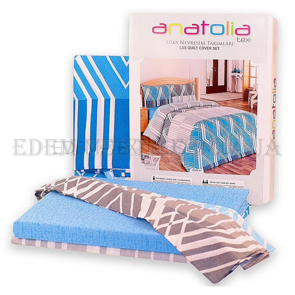 Постільна білизна Anatolia 200х220 бязь 46026-01 Бірюзовий купити по ... 14b7b60bbcdec