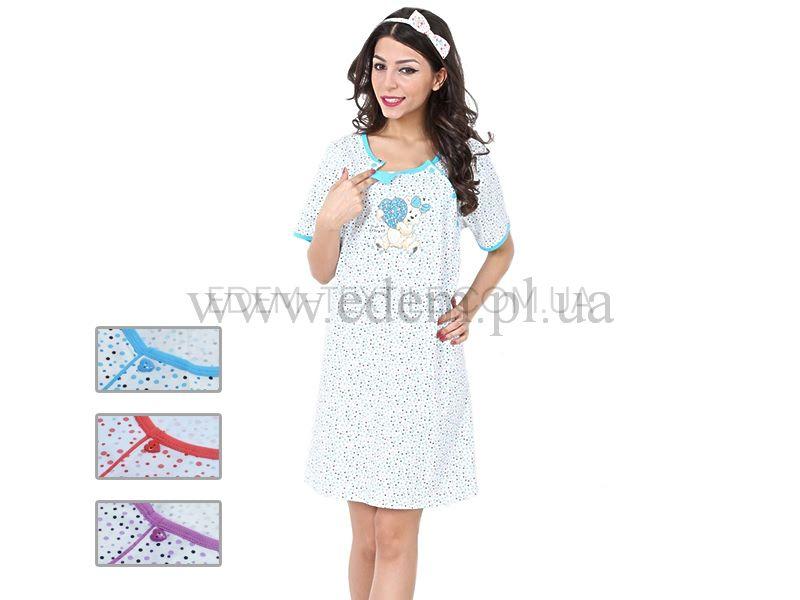 Сорочка жіноча для годуючих Vienetta Secret 0722 b4e08a61cb8c2