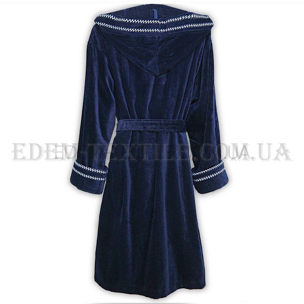 b6826956e206e Халат велюровий чоловічий Nusa 2705 темно-синій Темно-синій, Купити ...