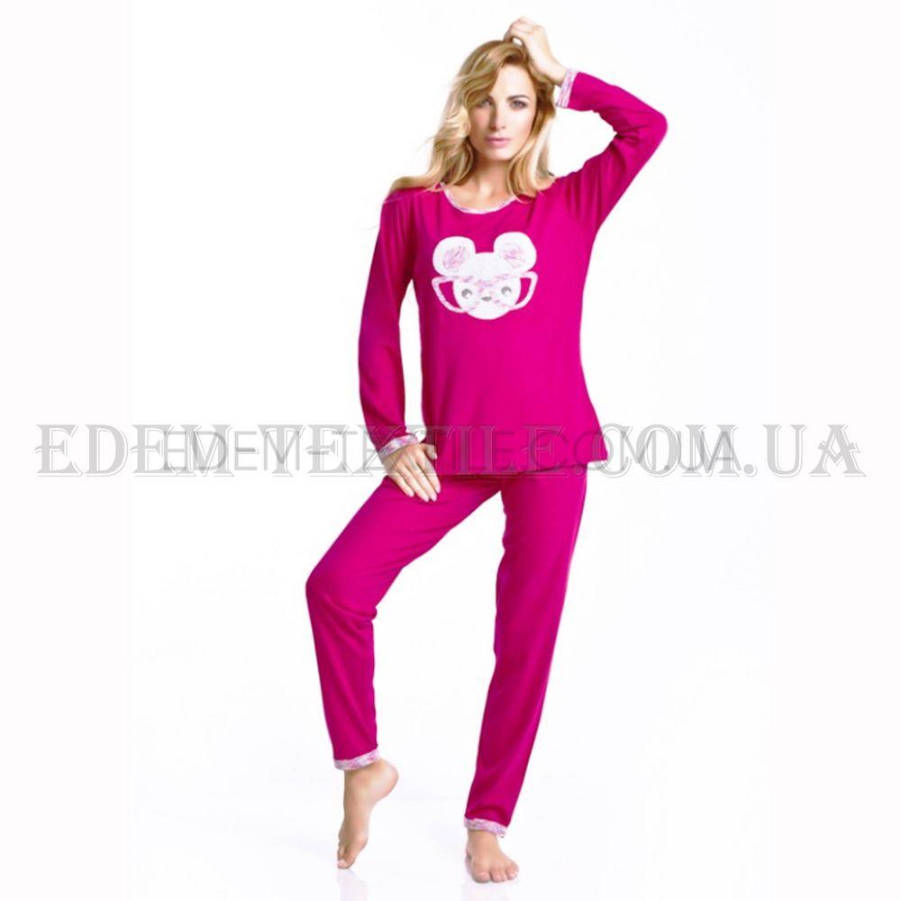 Пижама женская Dobranocka 6035 Фуксия Купить по Украине 977fb73b1c048