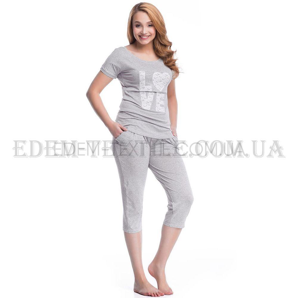 Пижама женская Dobranocka 7031 Серый Купить по Украине 54895b26ba10e
