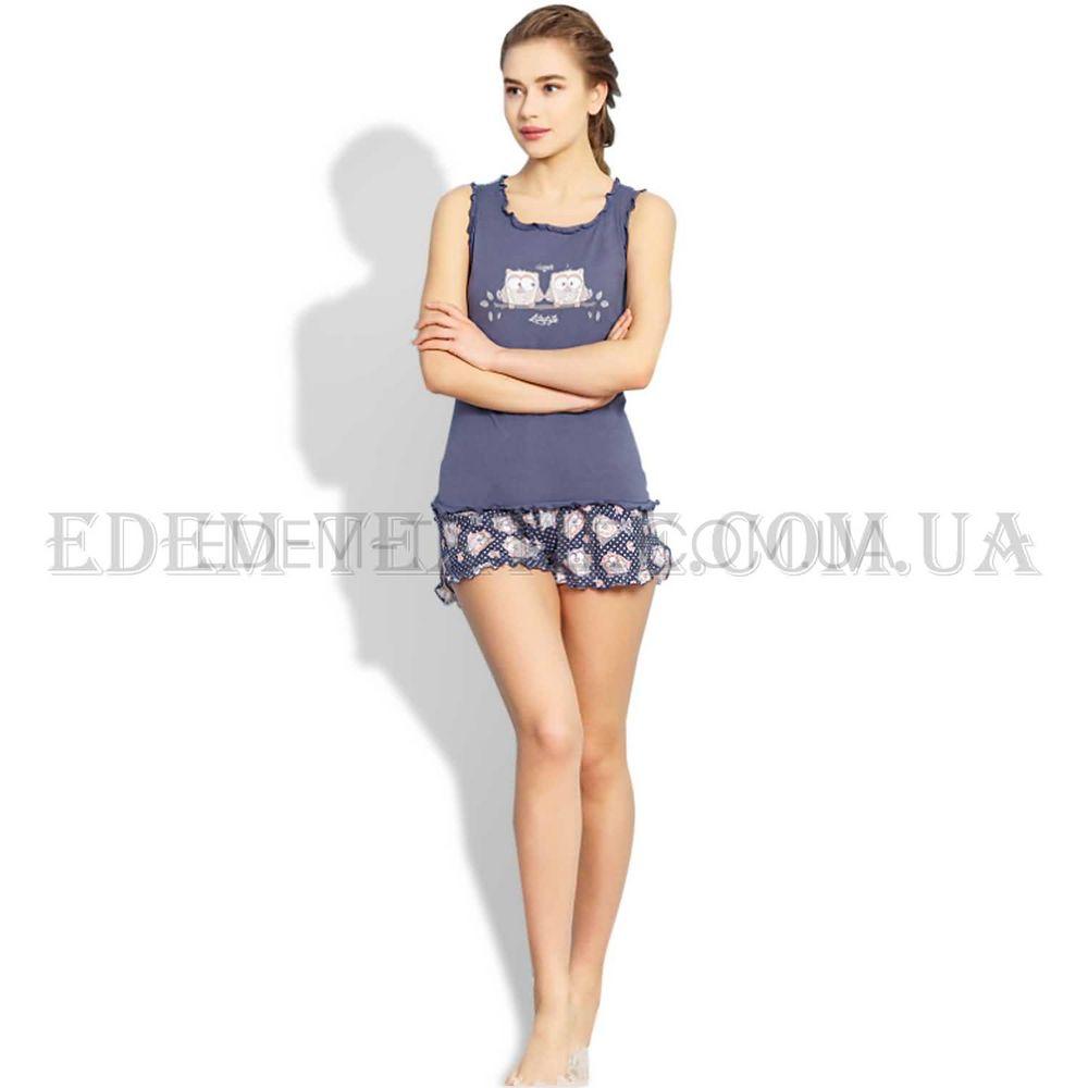 Пижама шорты майка на бретелях Совы Vienetta Купить по Украине c413e7197210b