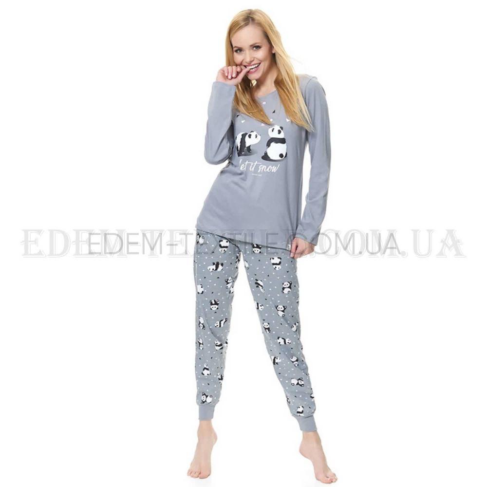 Піжама жіноча з пандами Dobranocka 9516 Сірий купити по Україні a36a5bcac68a9