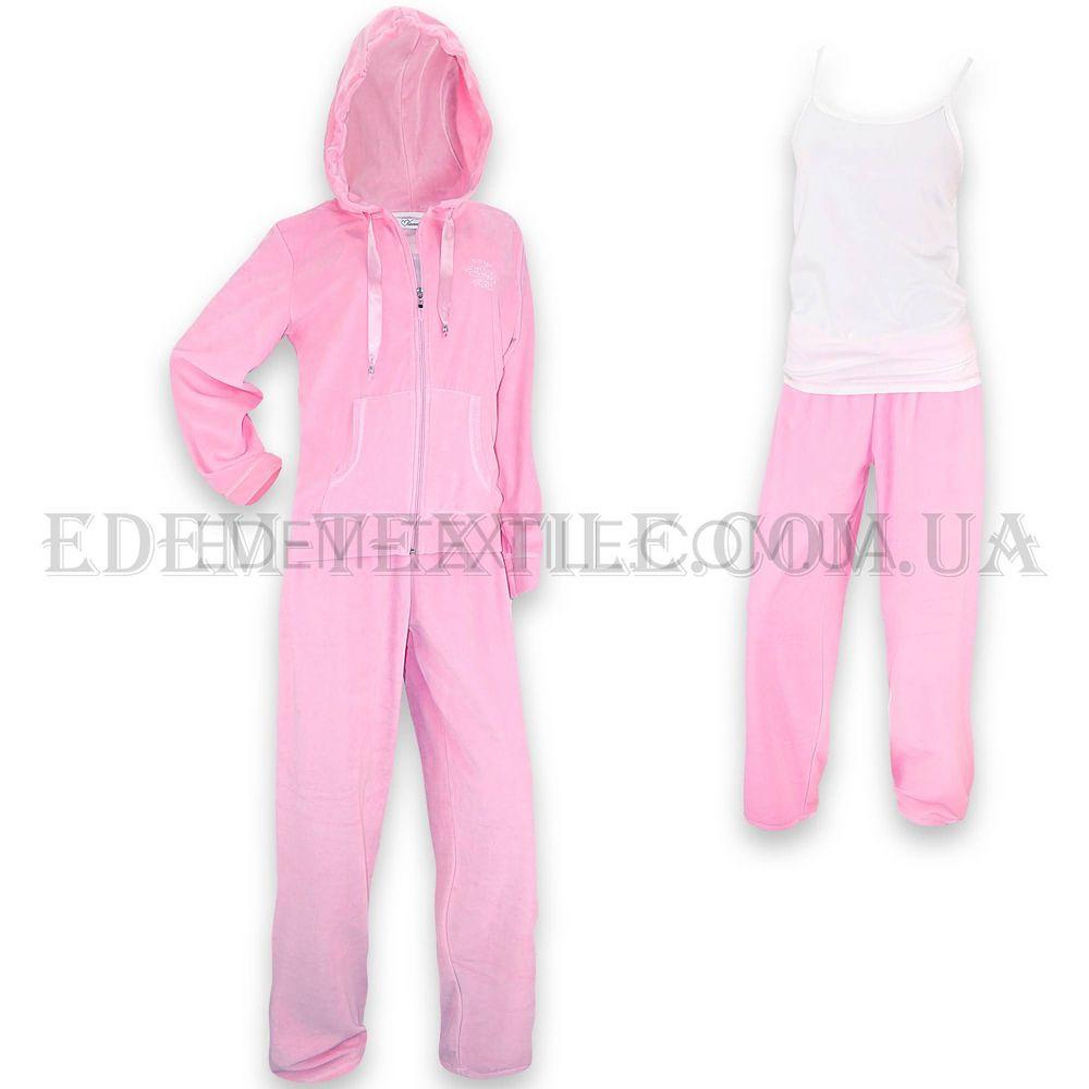 Домашній костюм жіночий велюровий Vienetta Secret 4568 купити по Україні fdb537f68a50e