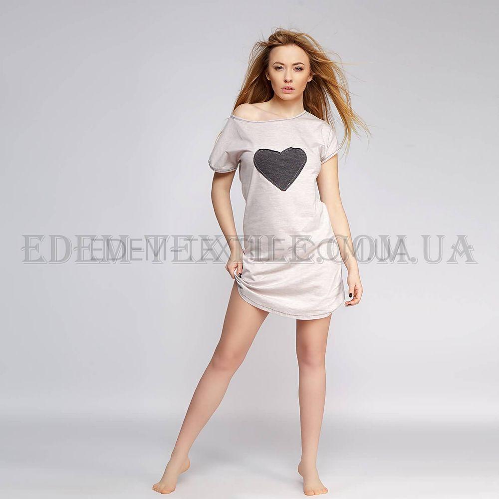 Туніка домашня Sensis Love Беж Бежевий купити по Україні d720a65e2bd12