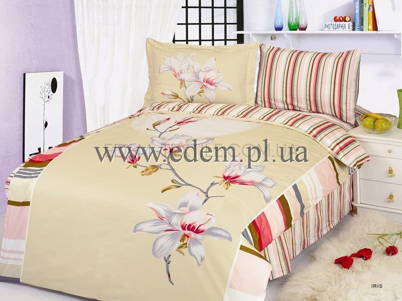Постільна білизна Le Vele сатин 200х220 Iris купити по Україні 3363a4d7fd267
