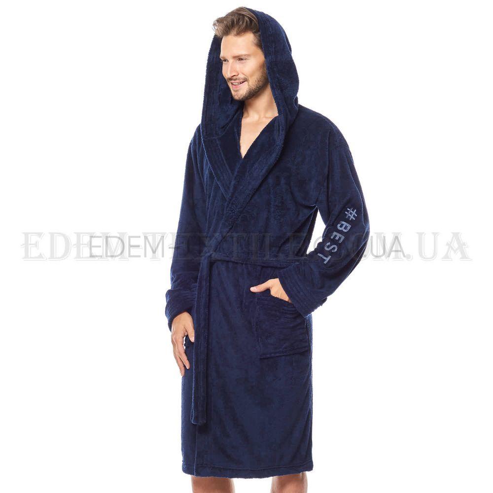 9f219be6ba6b71 Спортивний чоловічий халат з капюшоном L&L 8133 , M Купити в Україні