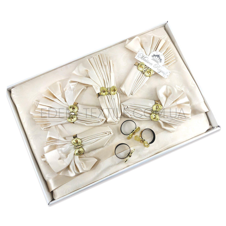 Скатерть с салфетками Maison Royale в подарочной коробке Фото