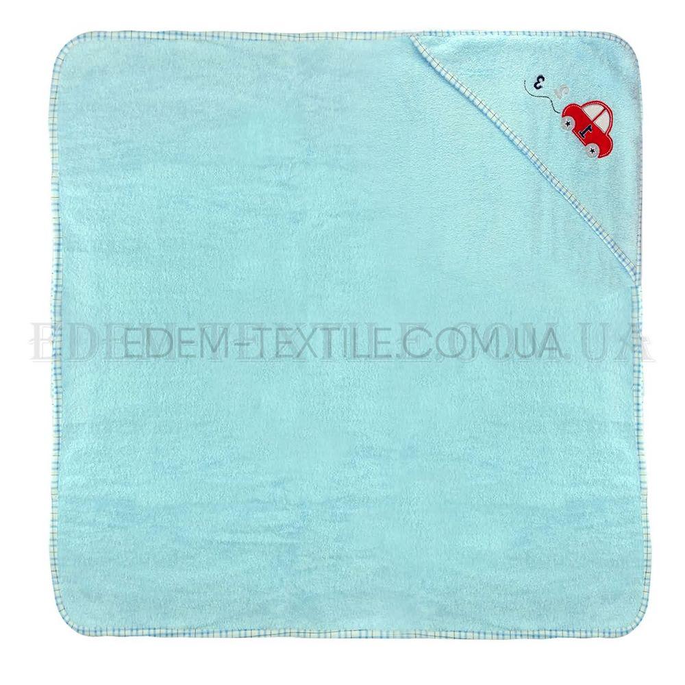 Рушник куточок після купання малюка Машина Блакитний купити по Україні bb59dd5636be3