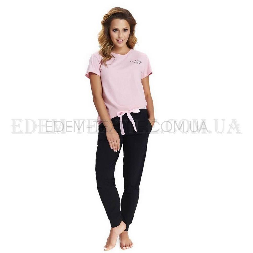 Пижама женская футболка и штаны Dobranocka 9541 Розовый Купить по ... 470d767d85b3d