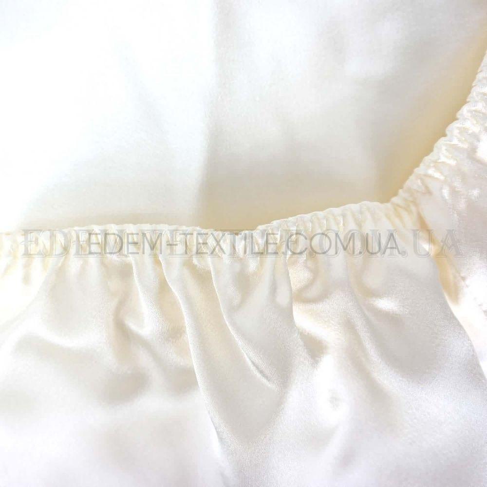 Атласный комплект для сна с шортами Irall Aria Кремовый Купить по ... ddb565f59a050
