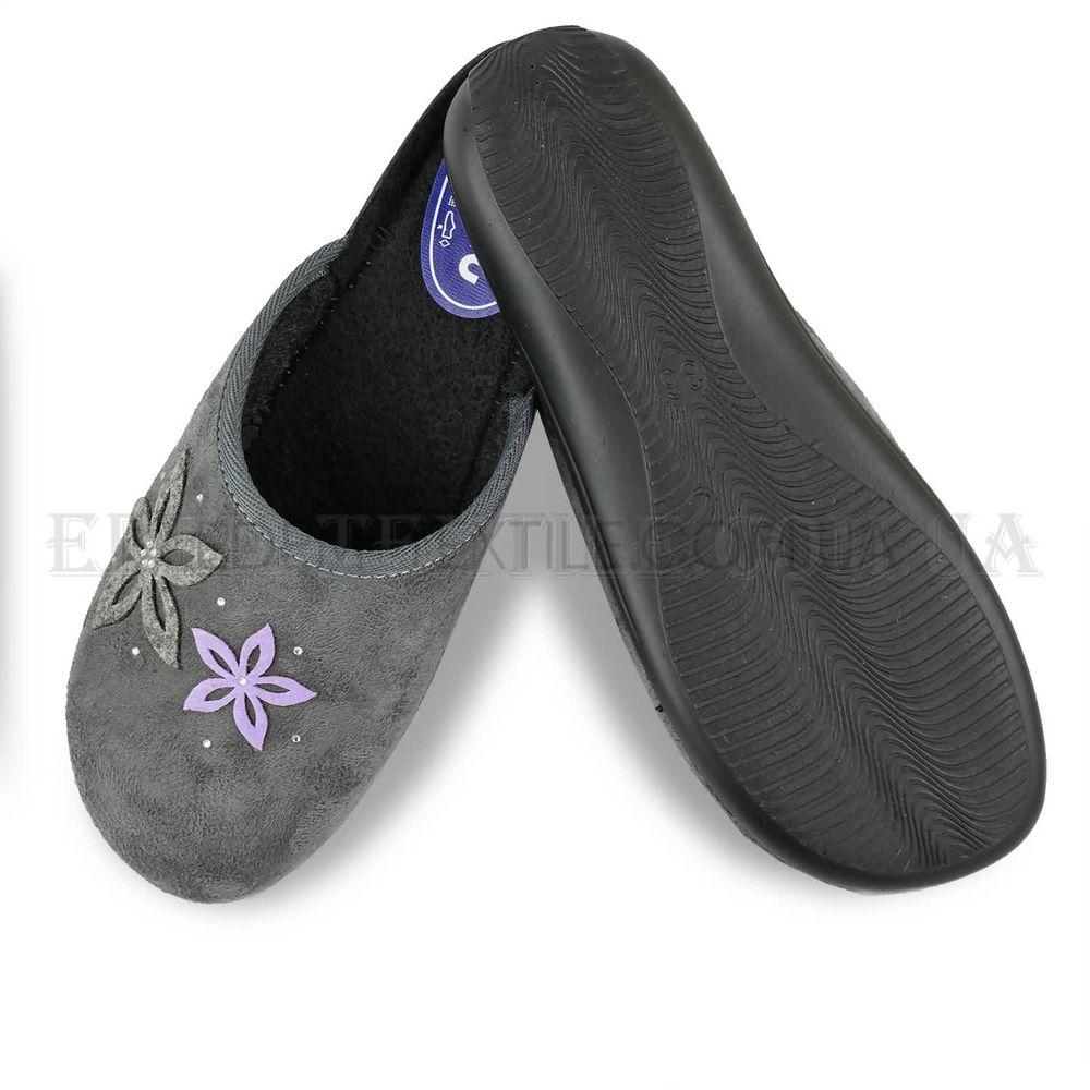Домашні тапочки жіночі Inblu NC-5V сірий Сірий купити по Україні c549212c62770