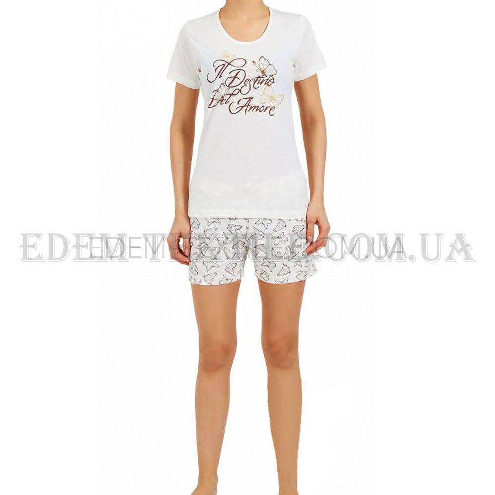 Пижама женская Silvia Salvatore 4122527016 кремовая Кремовый Купить ... ff62046a1df3e