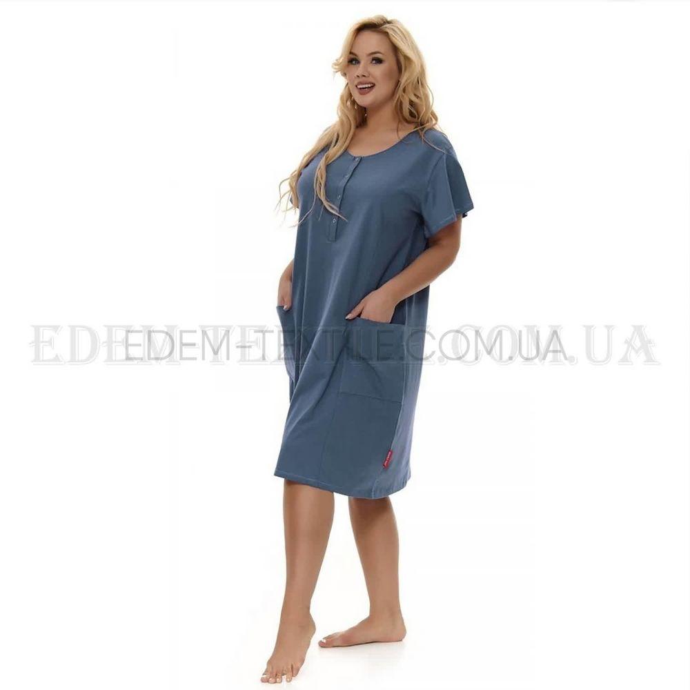 af315d54116ecc Нічна сорочка плаття з кишенями Dobranocka 9648 , L Купити в Україні