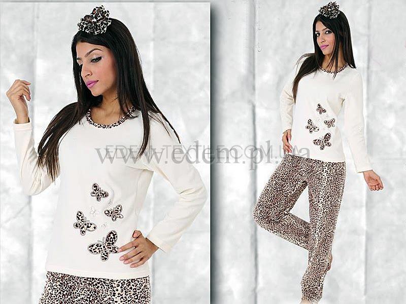 9ed9c9a9cc3 Домашний костюм женский велюровый Vienetta Secret 3811 Купить по Украине