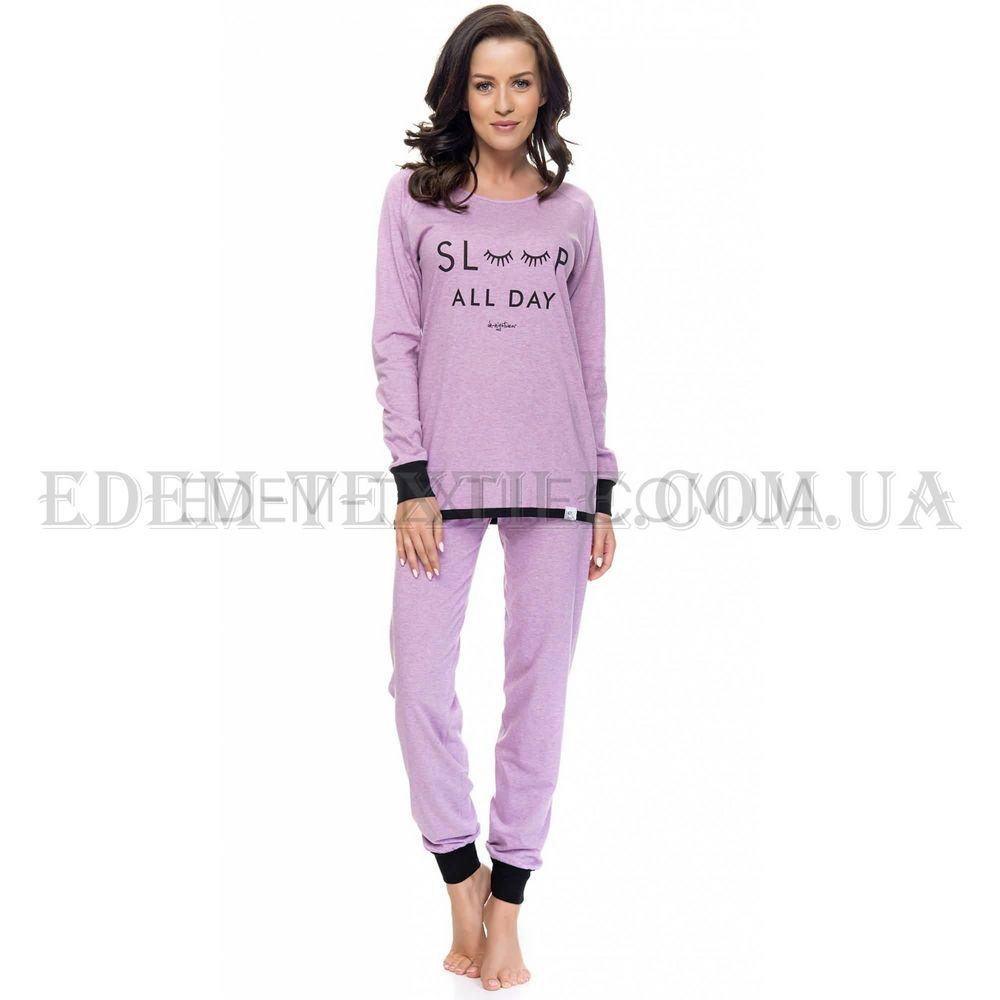 Піжама жіноча Dobranocka 9107 фіолетовий меланж Бузковий купити по ... 8cb157fb20a0b