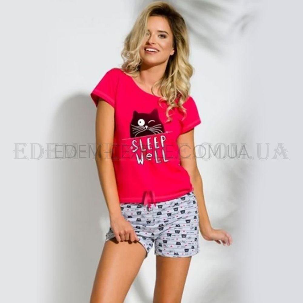Піжама футболка і шорти з котом Taro Kira купити по Україні bfeac8a6be4f3