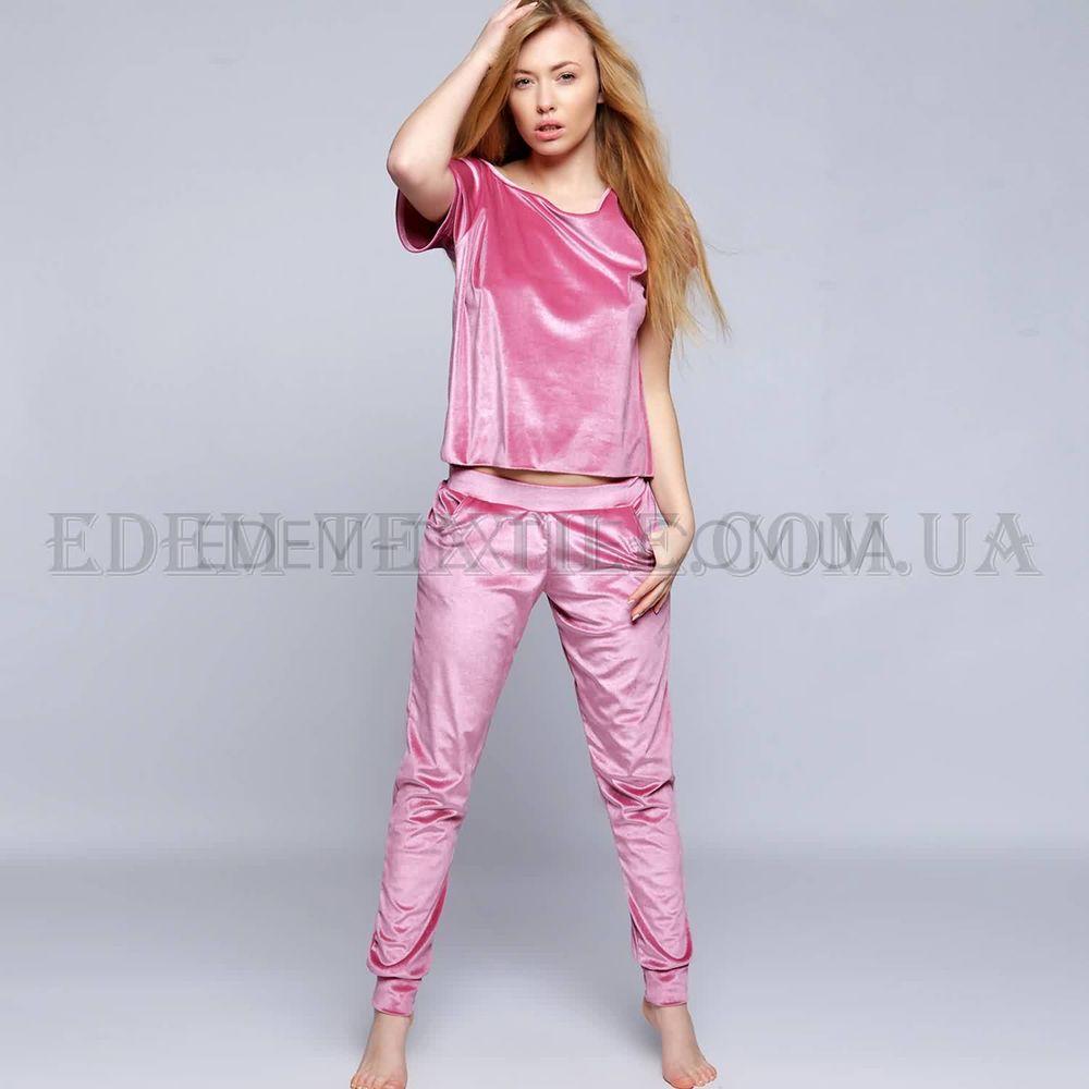 Костюм велюровий жіночий Sensis DR-002 рожевий Рожевий купити по Україні 87e0faf60ea44